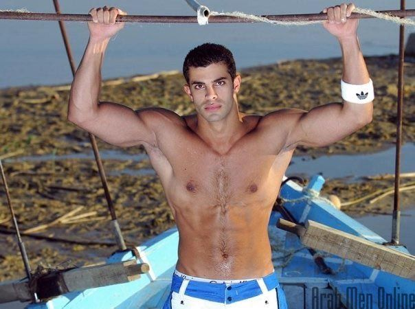 Sexy arab shirtless boys