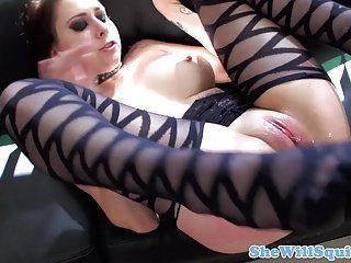 Sexy goth girl getting fucked hard
