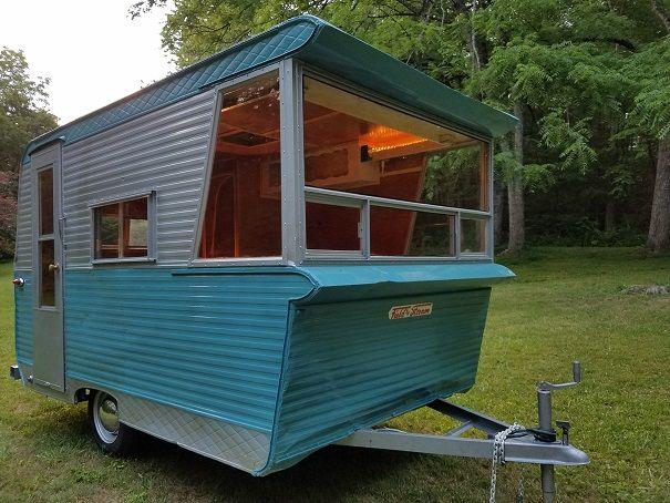 Vintage travel trailers sale