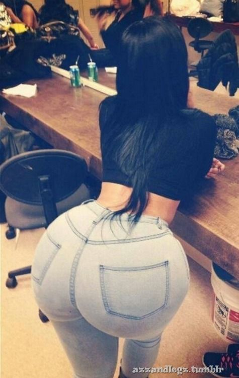With photos hair round ass long