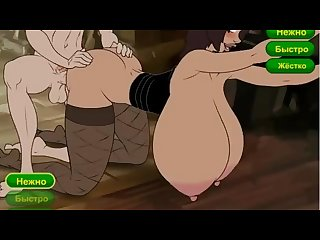 Cartoon mom naked ass