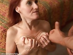 Hairy mature wife amateur redhead