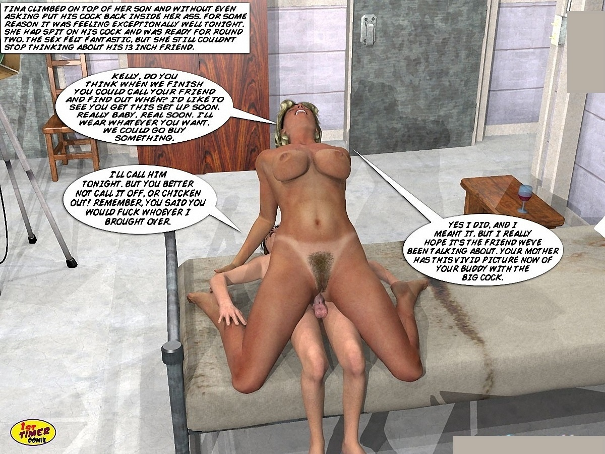 Mom son sex comix