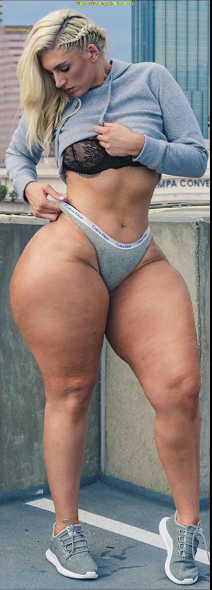 Big booty hips nude