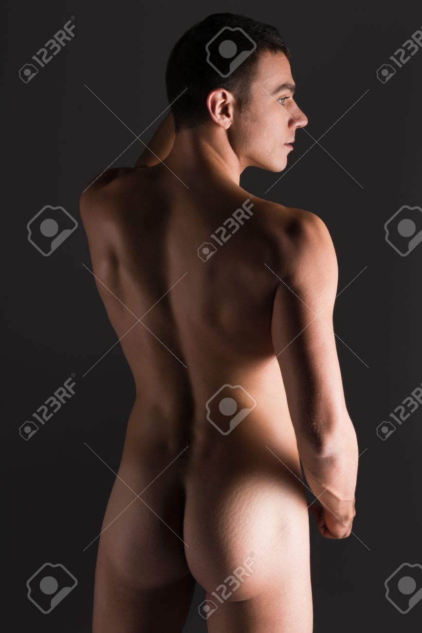 Handsome nude young men