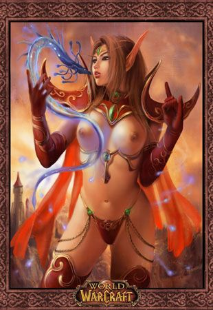 Sexy world of warcraft hentai