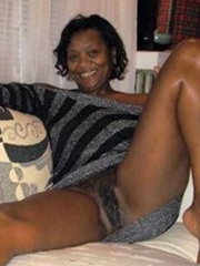 Nude blacks hairy african