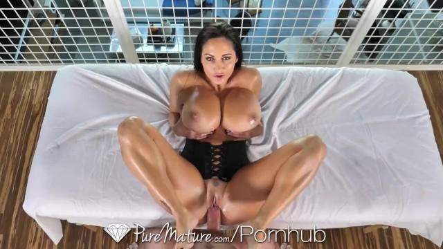 Big massage boob addams ava