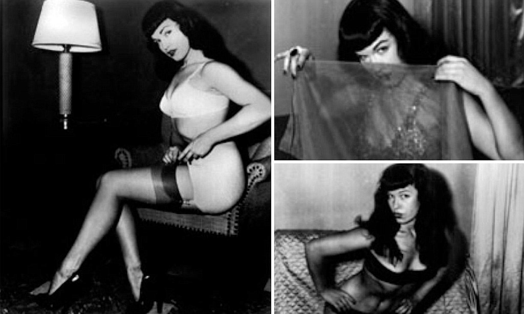Betty bettie page bush