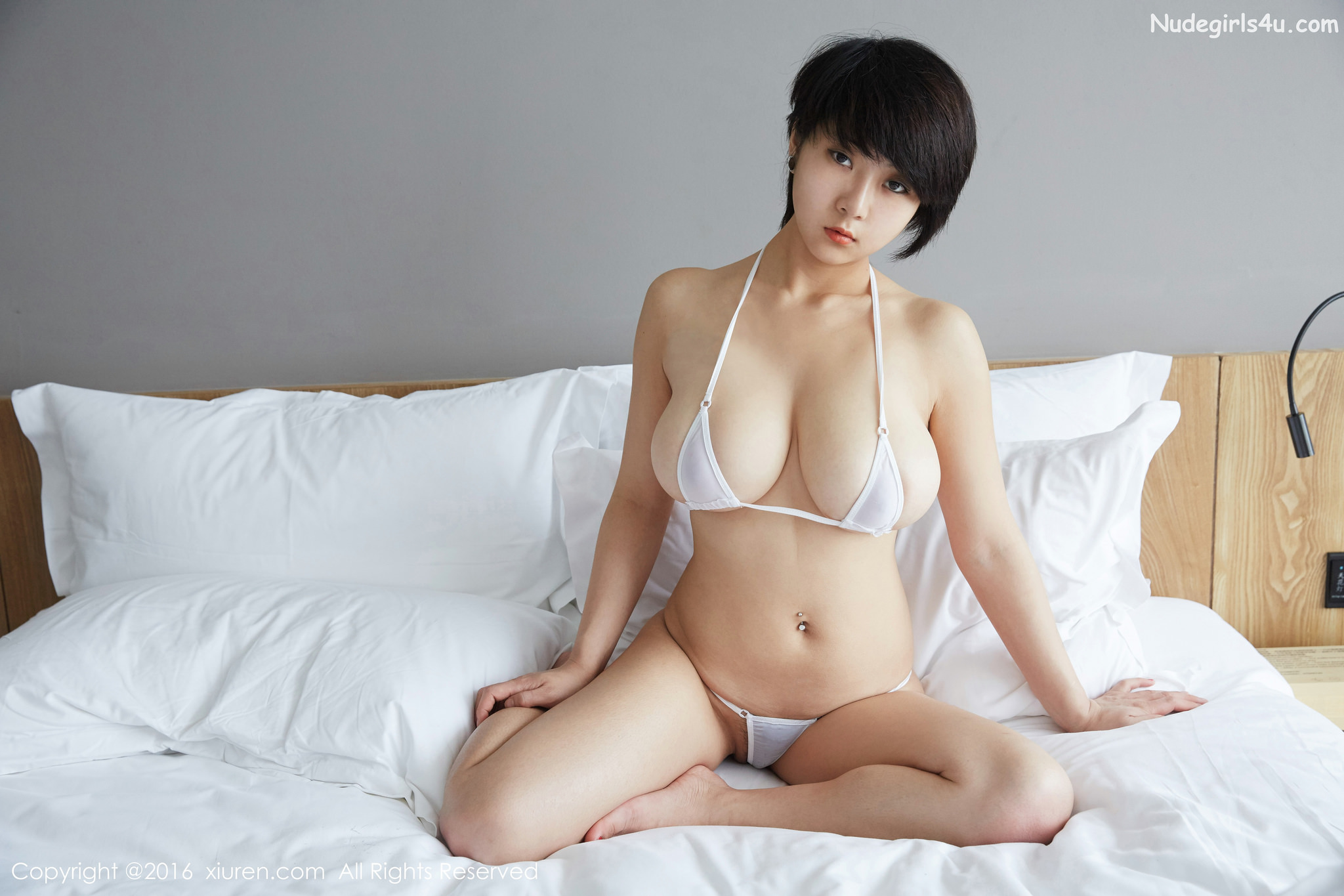 Girl nude xiuren cute