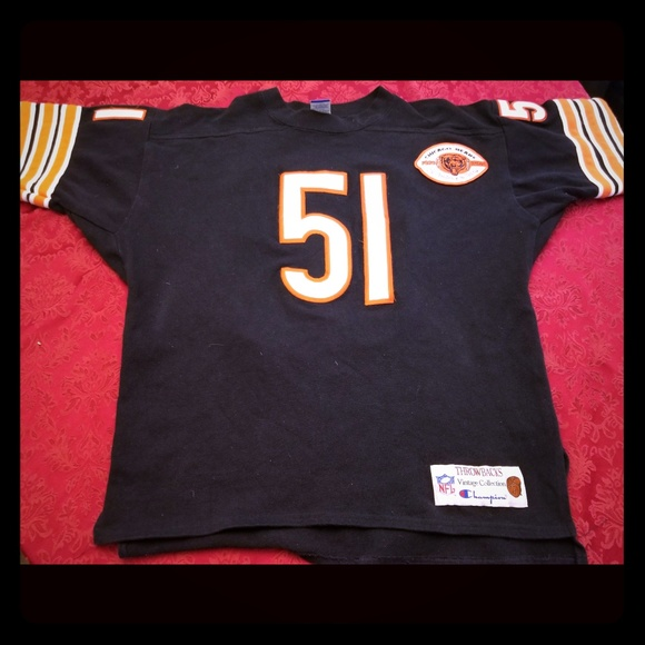 Butkus dick jersey throwback