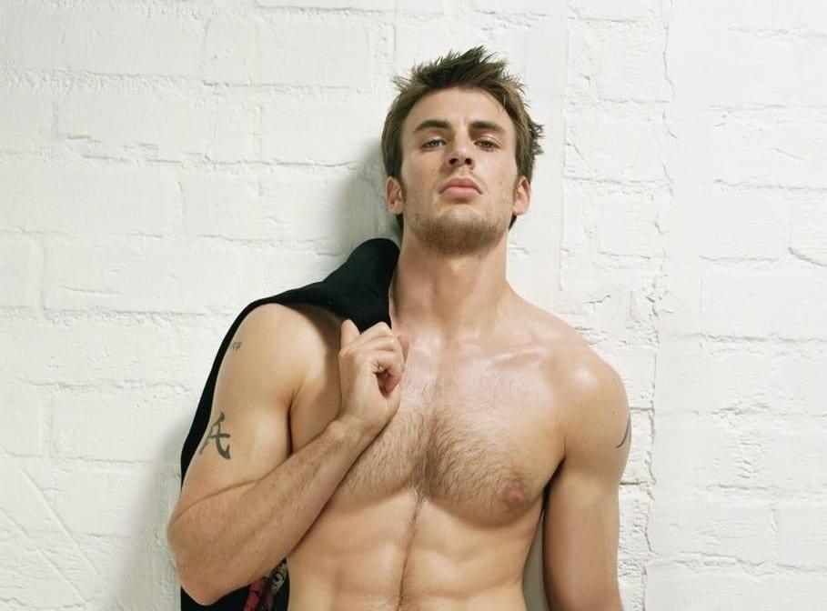 Chris evans nude dick