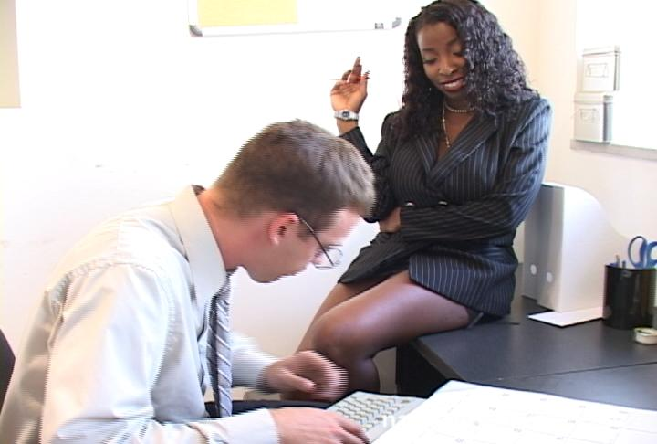 Vanessa blue naughty office