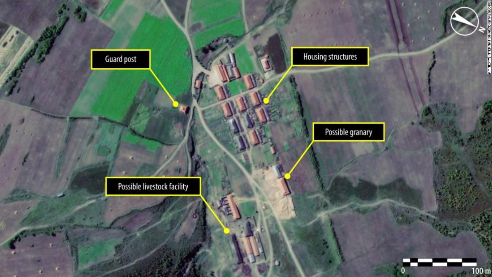 North korean concentration camps