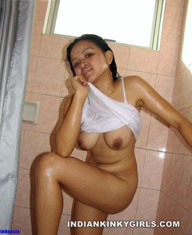 Topless indian girls bathroom