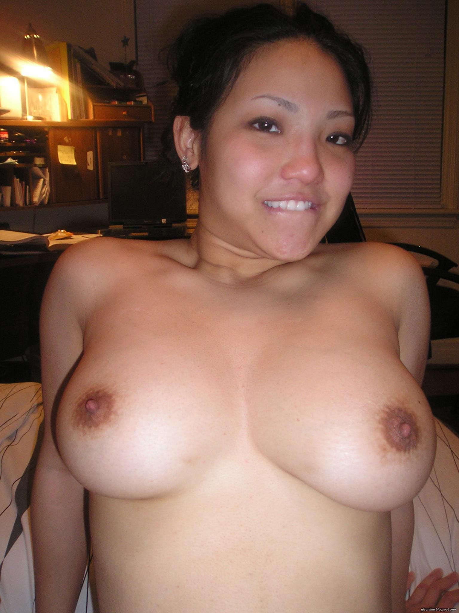 Cute nude asian milf