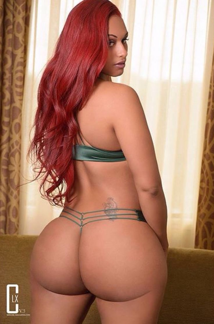 Women booty sexy curvy black naked