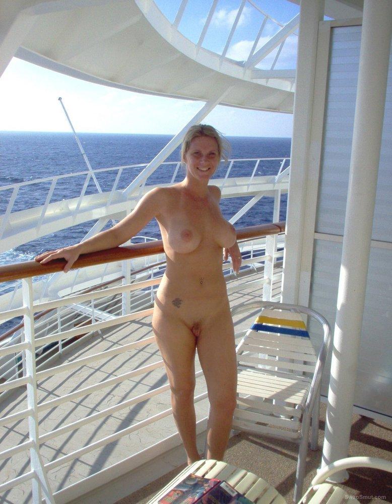 Mature nude on cruise ship