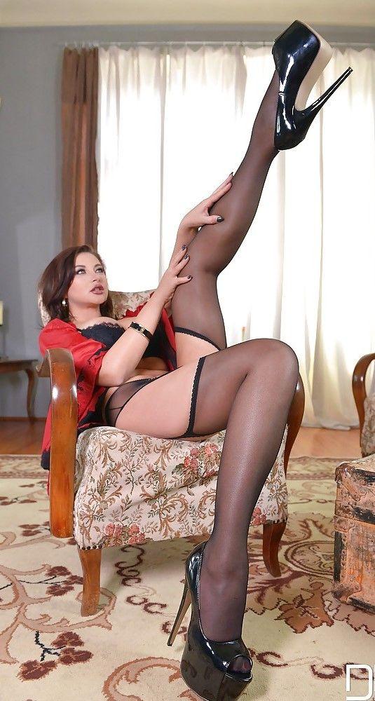 Anna polina feet stockings