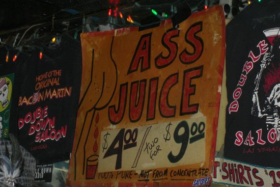 Las vegas ass juice