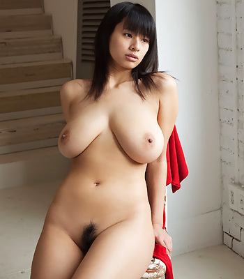 Busty asian girl solo