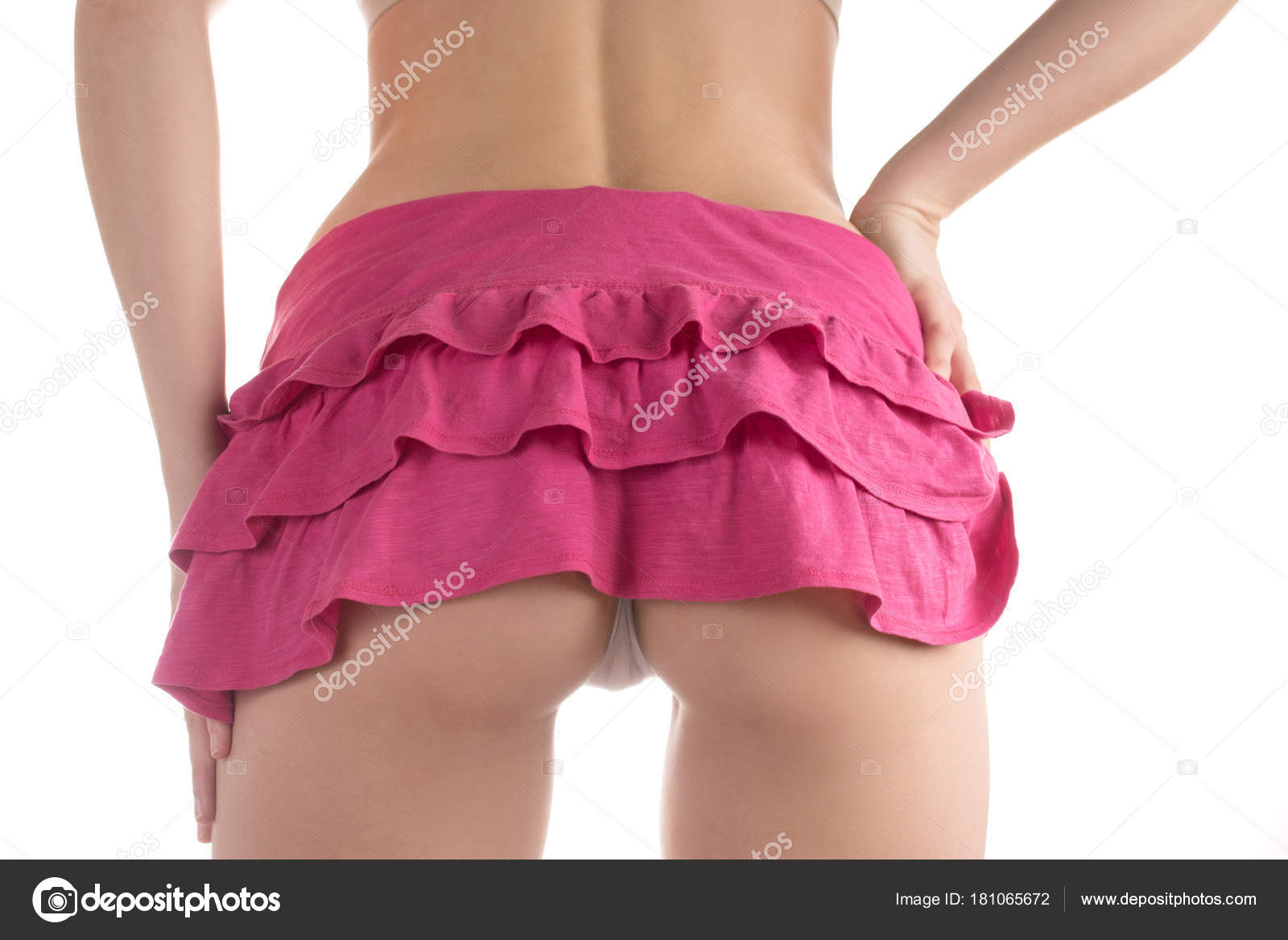 Nice asses in mini skirts
