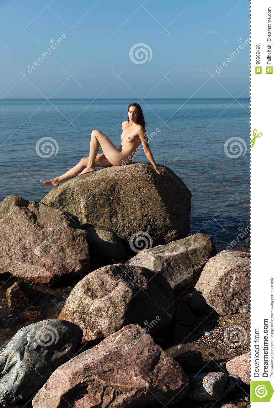 Cute nudist naturist girl