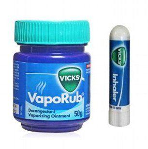 Rub vicks masturbate vapor