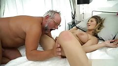 Girl sex old man
