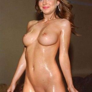 Russian busty brunette amateur