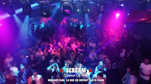 Lesbian rap group scream club
