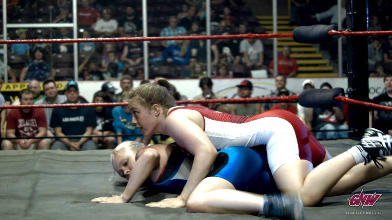 In spandex wrestling pics girls