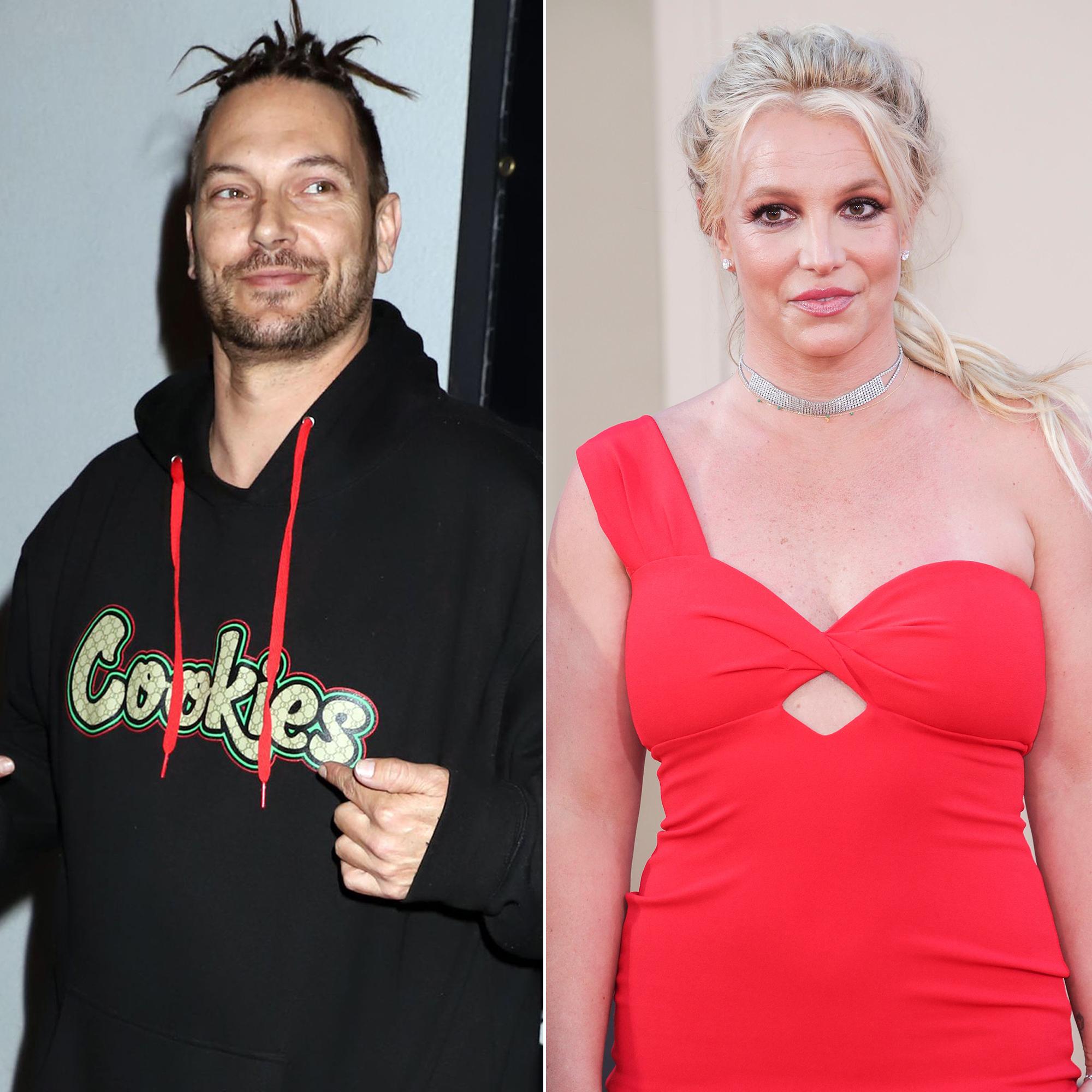 Spears and britney kevin federline