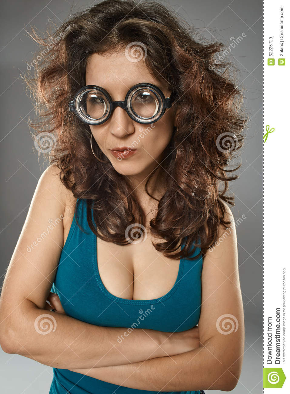 Girls with geeky glasses