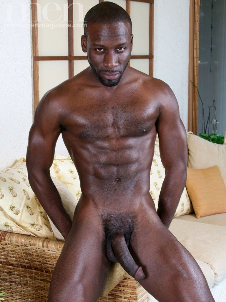 Black men with big bulges nude
