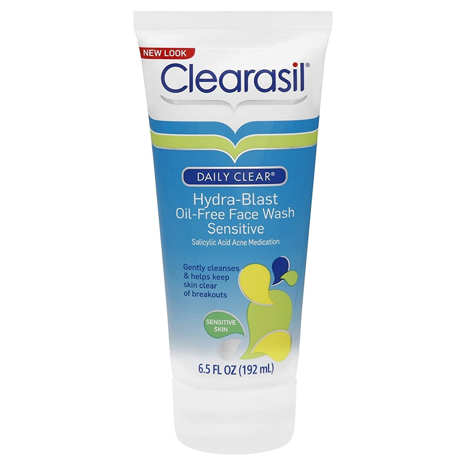 Facial cleanser for sensitive skin acne