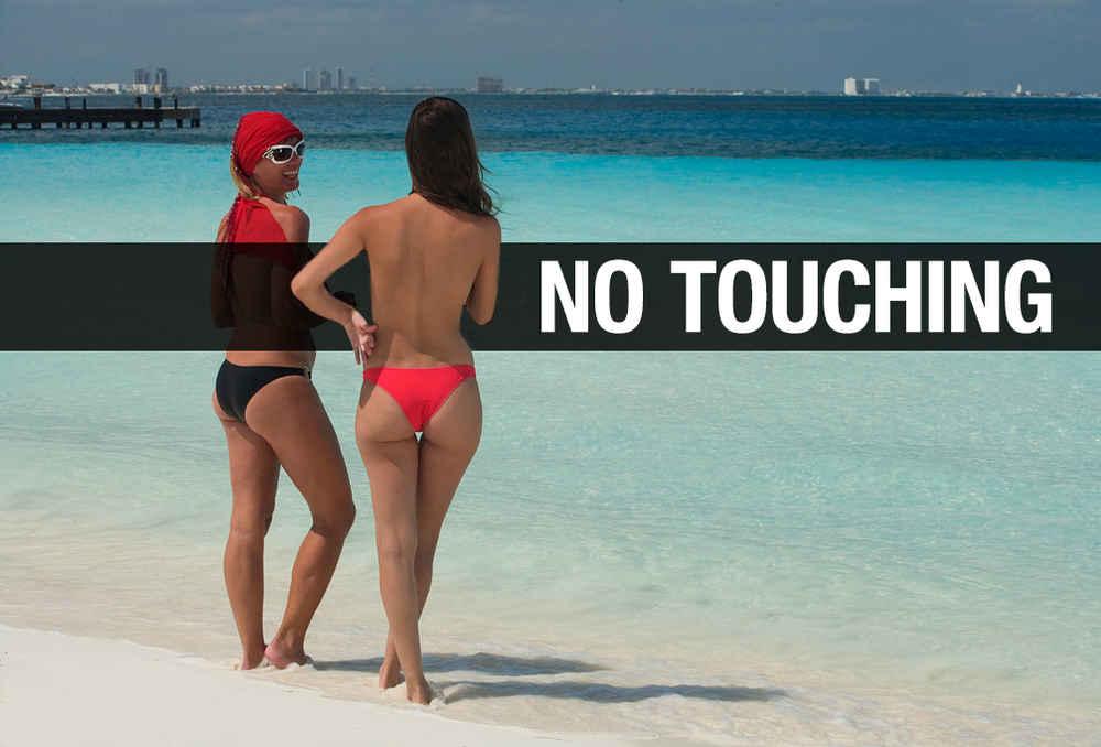 Naked on nude beach sex