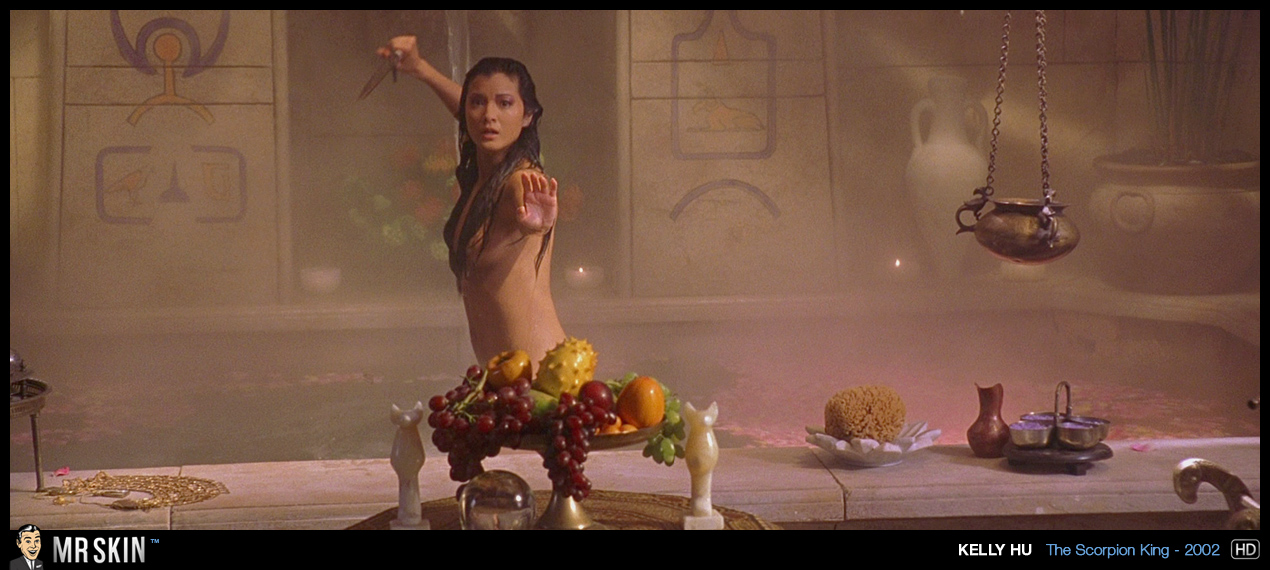 Kelly hu scorpion king nude