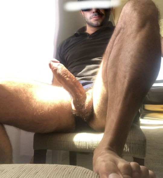 Nude cock balls ass foot muscle