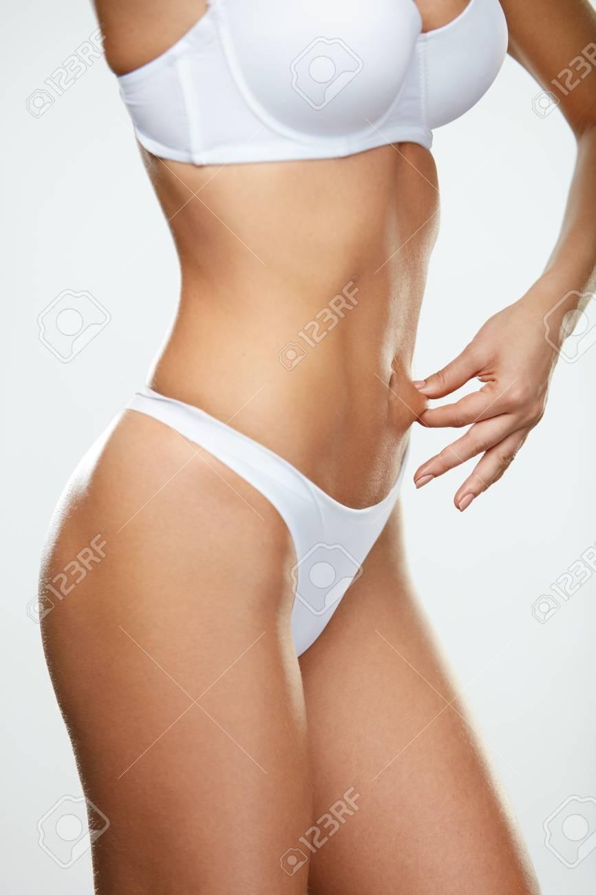 Hot girl fat belly