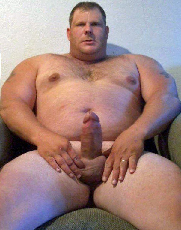 Fat naked men with big cocks