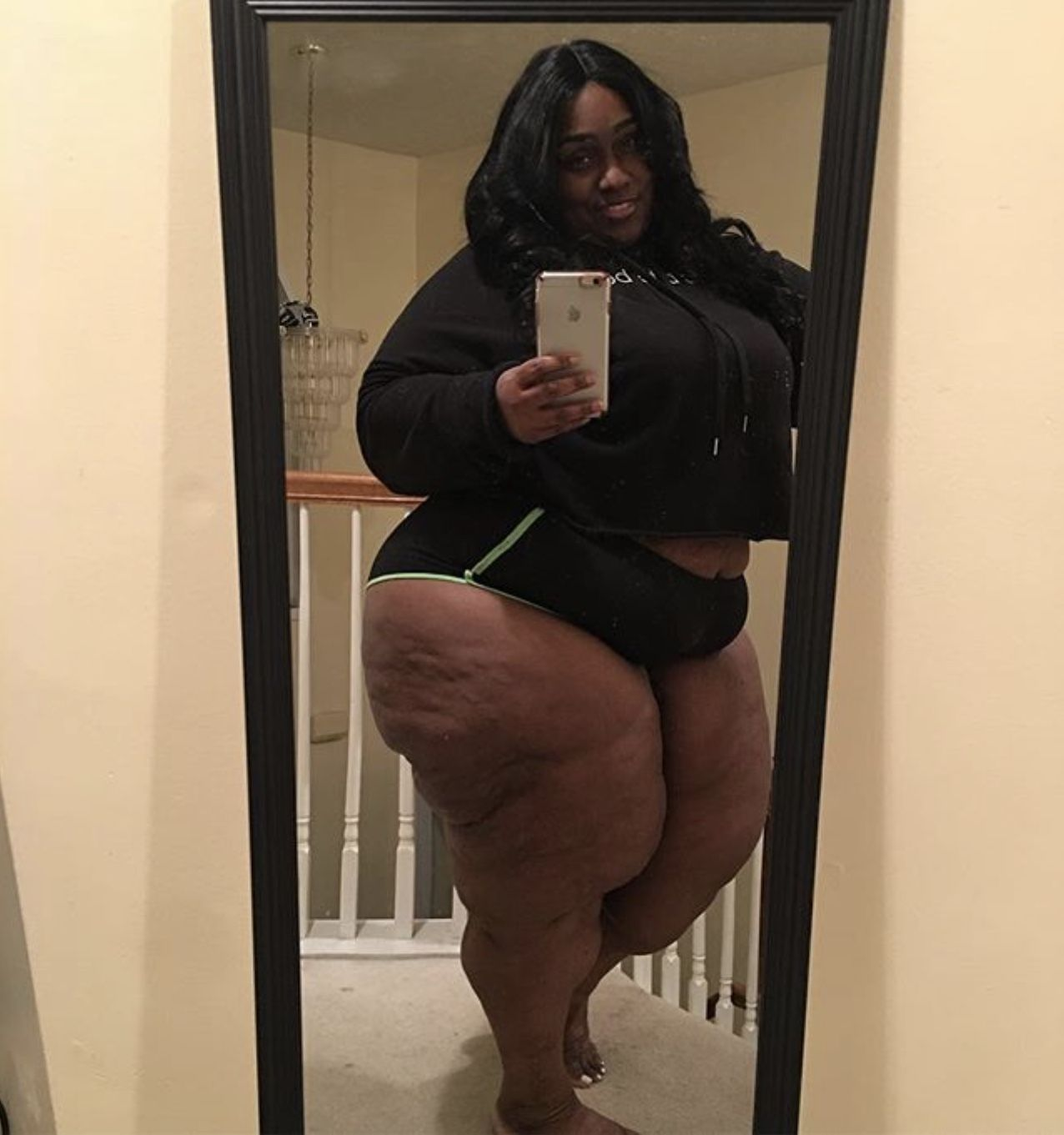 Big black fat ass oild bbw