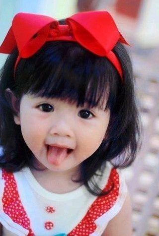Tiny cute asian teen