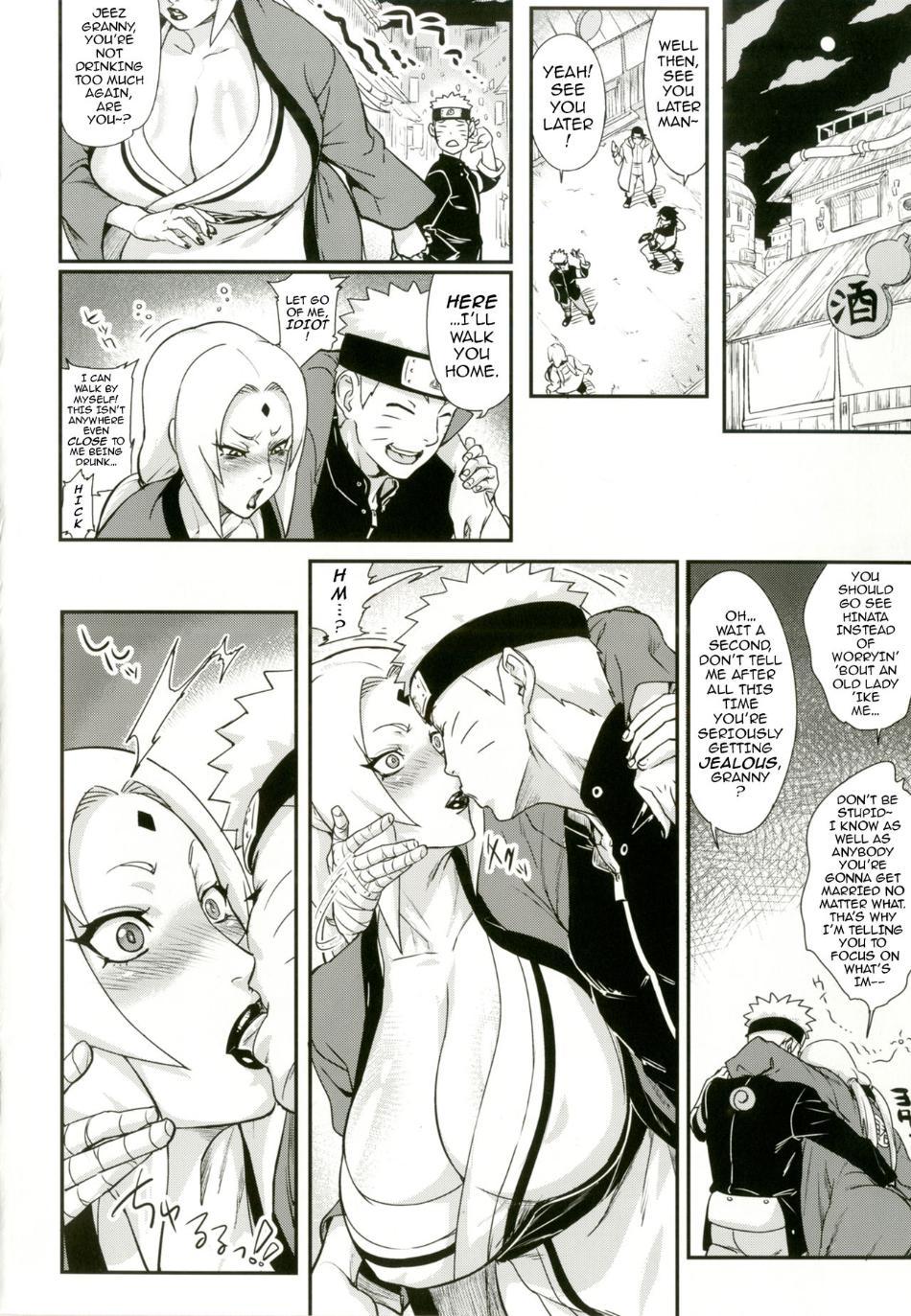 Naruto xxx tsunade hentai comic