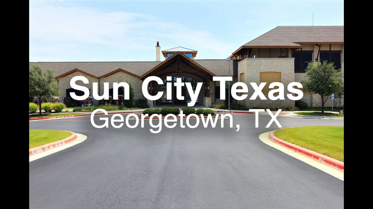Active adult community in retirement texas