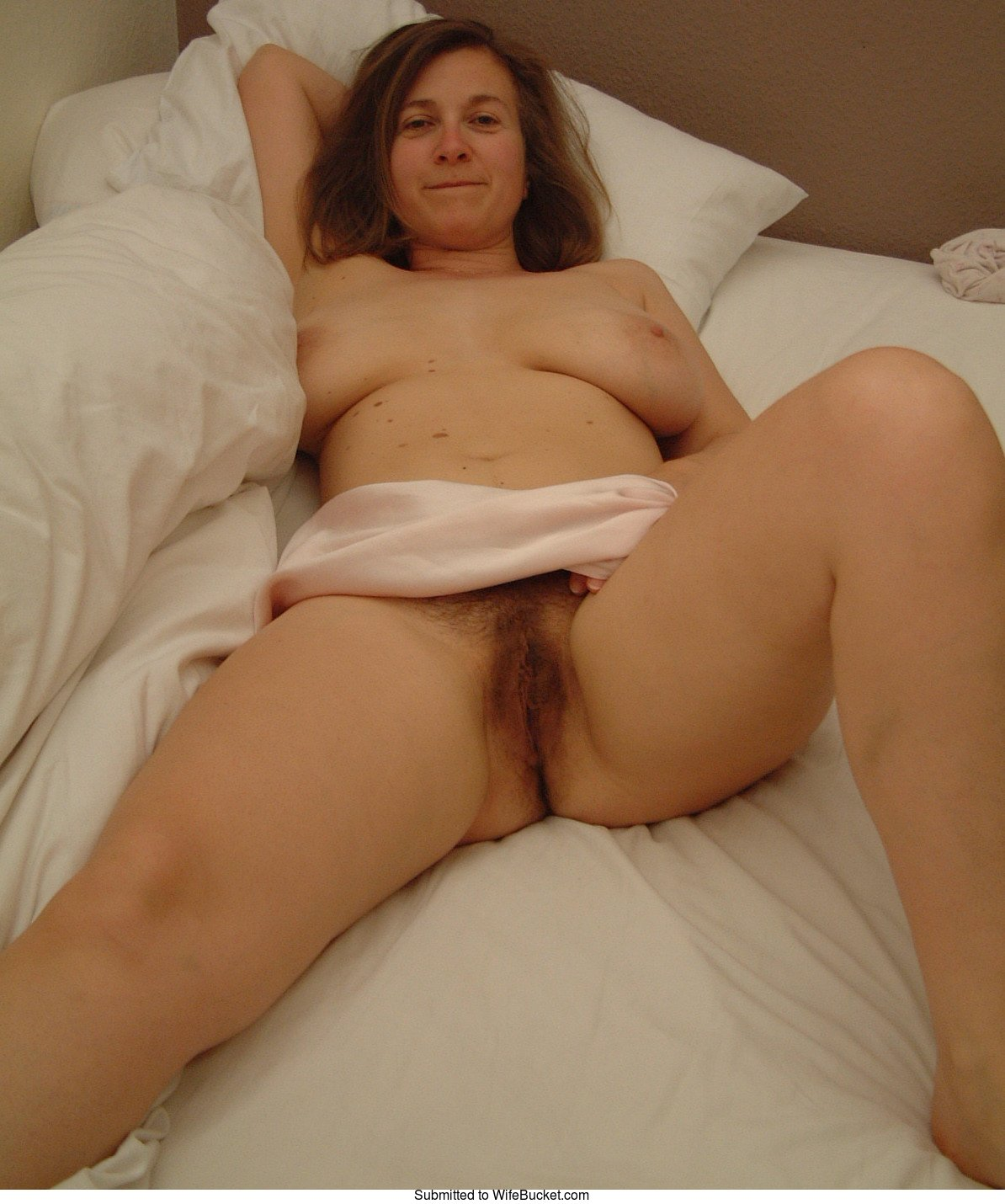 Shy mature wife nude