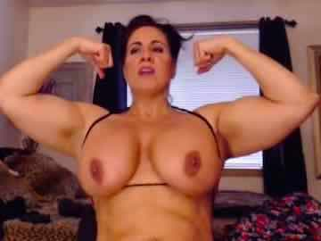 Muscle girls with big boobs
