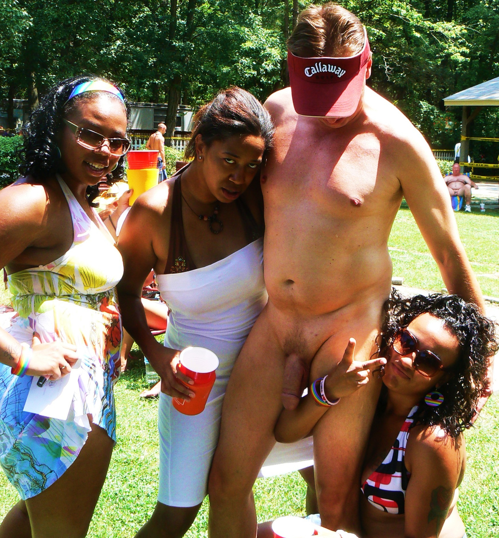 Nudes a poppin ponderosa sun club