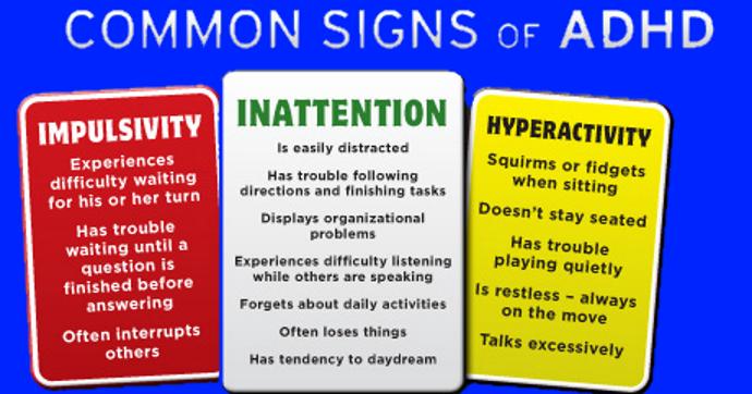 Symptoms of add in adults