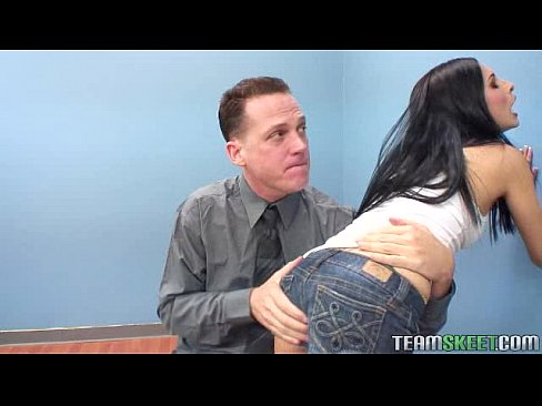 Hot teacher spank hot girl
